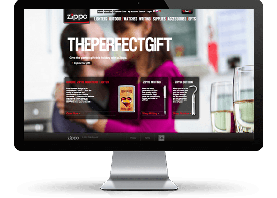 E-Commerce: Zippo website on Opencart