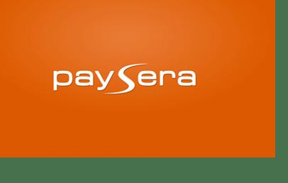 Paysera prepaid Visa
